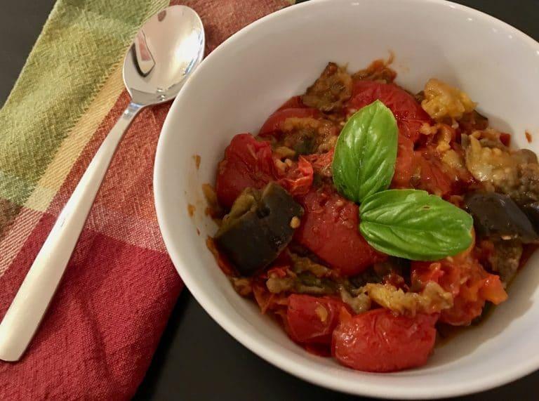 Recipe of the Week #2: Eggplant Tomato Stew