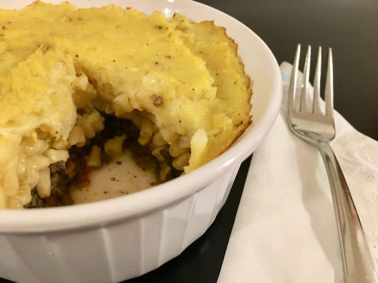 Recipe of the Week #24: Low-Carb Shepherd's Pie